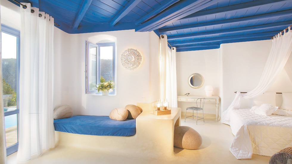 Sample Mykonos Blu Junior Villa with Private Pool|A real home, a refuge to forget time…