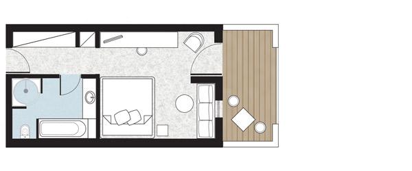 Sample Island Bungalow Side Sea View floorplan