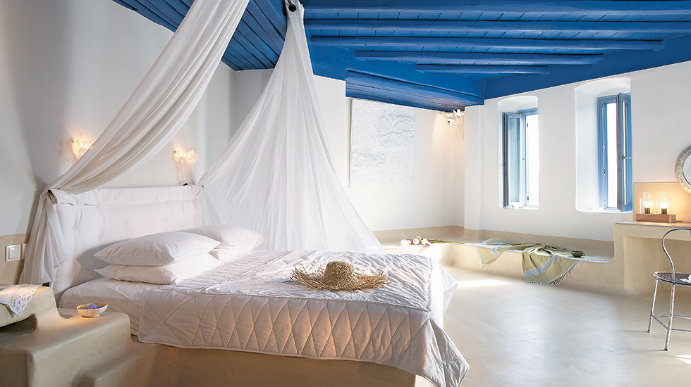 Exclusive Bungalow Suite|Supreme comfort with spacious living & a private terrace offering a sweeping view of the Aegean