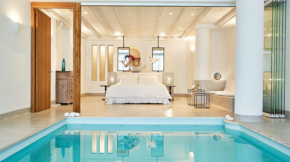 Private Indoor Pool Suites