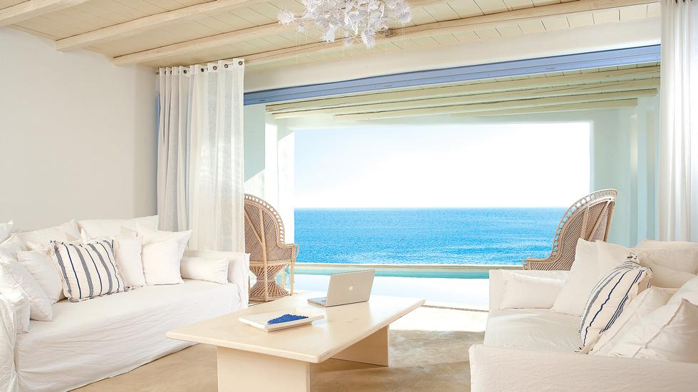 Villa in Mykonos Private Pool Jacuzzi