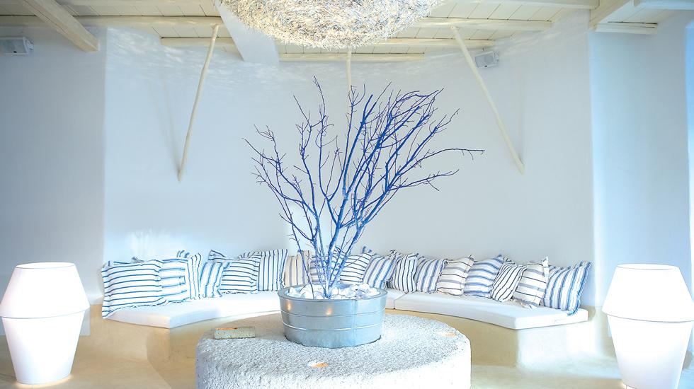 Mykonos Blu Lounges