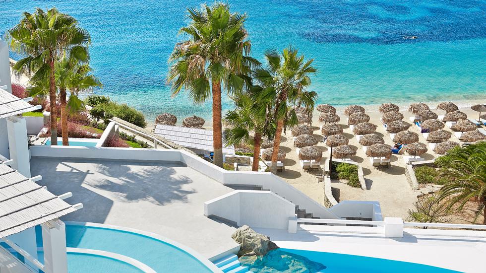 Psarou Beach Mykonos Blu 5star hotel