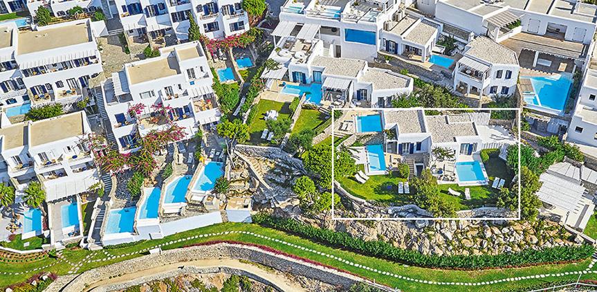 Cobalt Blu Villa With Private Pool Mykonos Blu