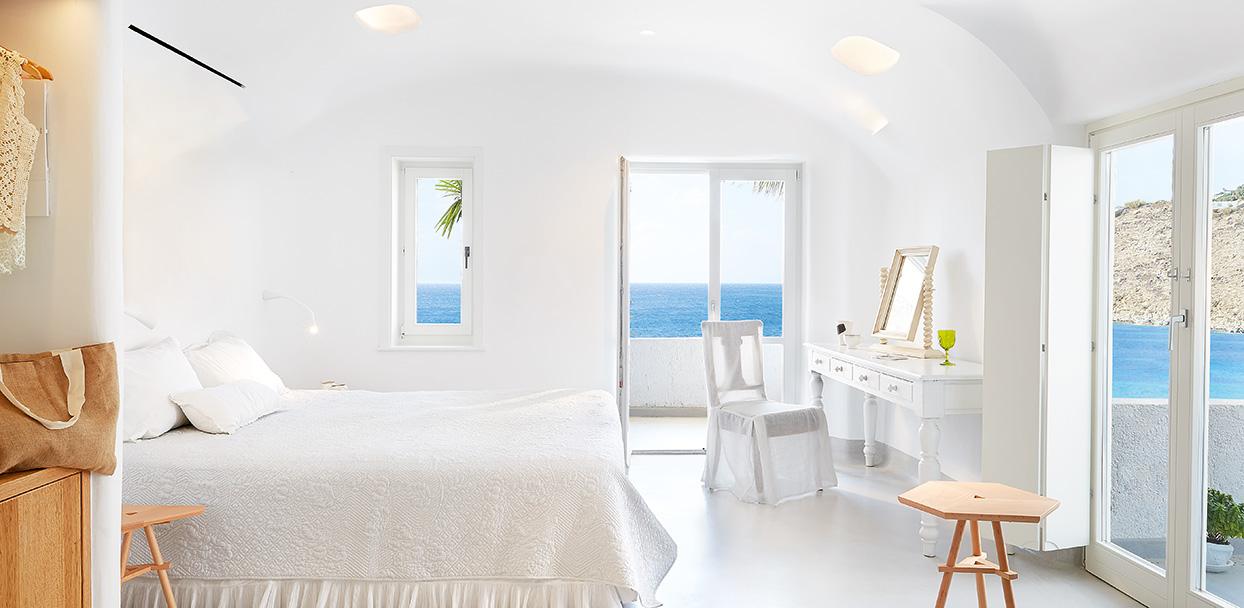 Bungalow Suite privater Whirlpool, draußen | Mykonos Blu